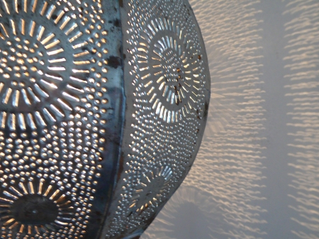 Simone Sorber Marokkaanse lamp