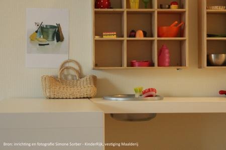 Keukentje Maalderij, inrichting Simone Sorber
