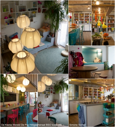 De Kleine Wereld De Pijp Hilligaertstraat BSO kookcafé - Simone Sorber